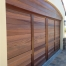 Napa Garage door staining