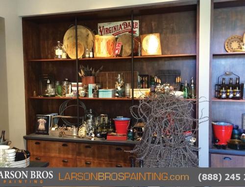 Coppola Tasting room re-finish
