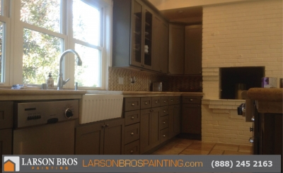 napa county kitchen cabinet painter