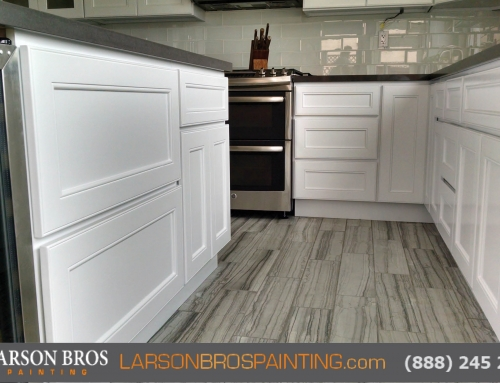 Cabinet Painting Project, Napa