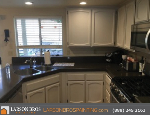 Kitchen Cabinet Painting: Napa Sonoma County