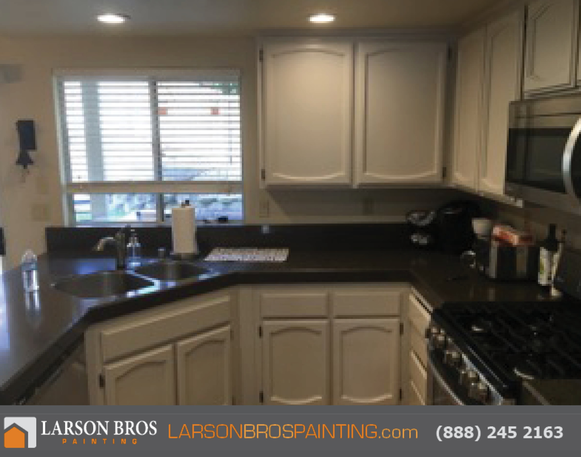 Professional Cabinet Painting - Larson Bros Painting