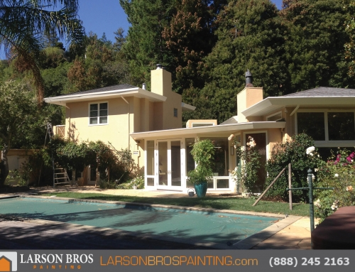 Kentfield Exterior Paint Project