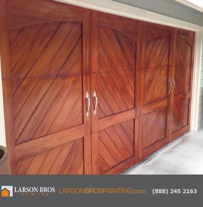 Napa garage door re-finish