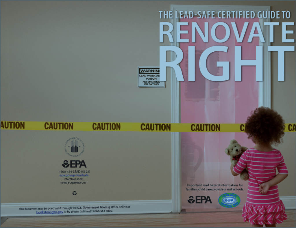 Lead safe certified guide renovate right pdf